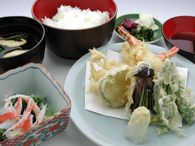 天ぷらランチ 850円